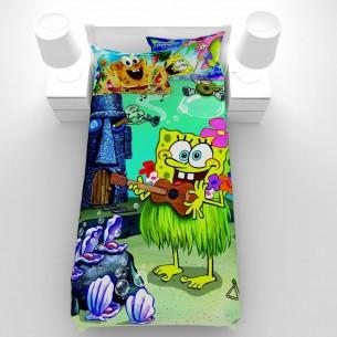 روتختی سه بعدی کارتونی GUZEL مدل Sponge Bob Guitar