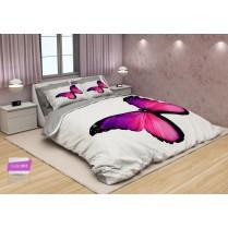 لحاف روتختی سه بعدی مدل pink butterfly