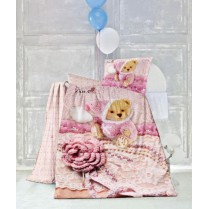 سرویس لحاف نوزاد سه بعدی مدل Doll