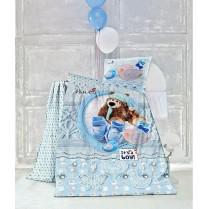 سرویس لحاف نوزاد سه بعدی مدل Cute Bear