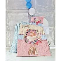 ست لحاف نوزادی سه بعدی مدل Sweet baby