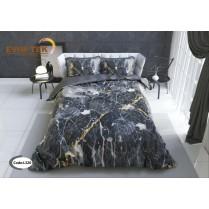 روتختی سه بعدی فانتزی طرح سنگی Black marble
